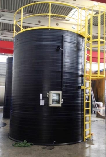 Double Walled Tank With Vacuum Safety Control Vsc And